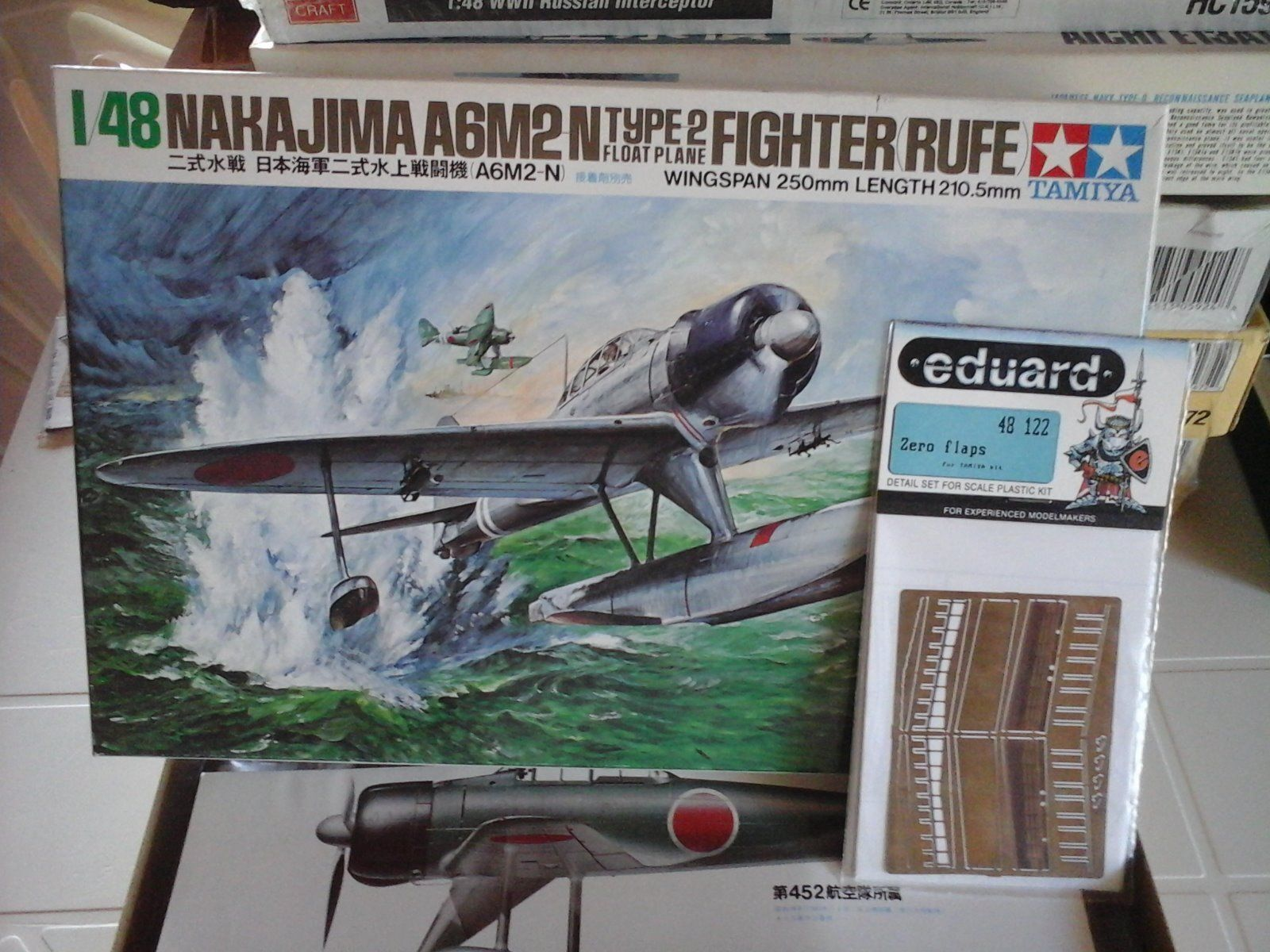 negozio online outlet NAKAJIMA A6M2N TYPE 2 FIGHTER FIGHTER FIGHTER  RUFE  1 48 SCALE TAMIYA modello+PcalienteOETCHED FLAPS  vendite online