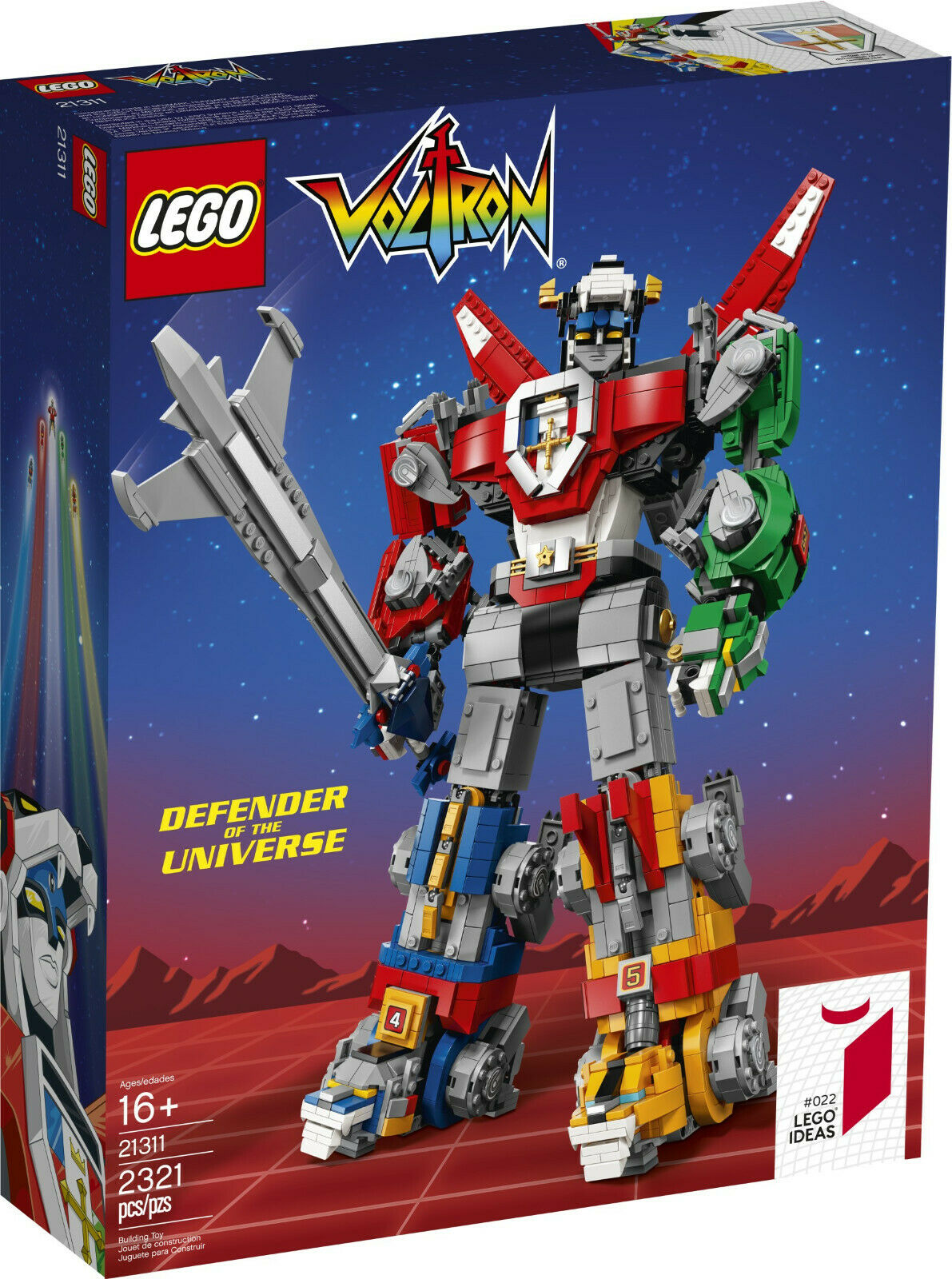 Lego 21311 - Ideas - Voltron (Defender of the Universe)