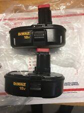 New (2) Dewalt DC9099 18V 18 Volt 1.2ah NiCd Batteries-replaces Dc9098