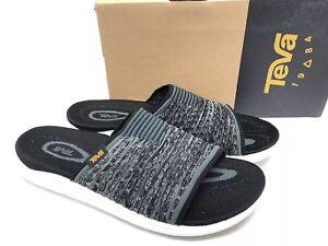 176b0b5c60b Teva Terra-Float 2 Knit Slide 1092190 Women s Shoes Black Sandals ...