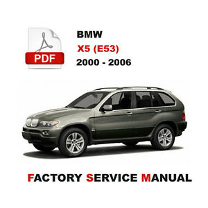 details about 2000 2001 2002 2003 2004 2005 2006 bmw x5 service repair  manual + wiring diagram