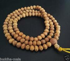 108 7mm Nepal Phenix Bodhi Seeds Prayer Beads Buddhsim Meditate Mala Necklace