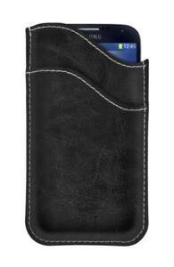 4-OK-Wave-Schutz-Tasche-Etui-Hulle-Case-Cover-in-Schwarz-fur-BlackBerry-Z10