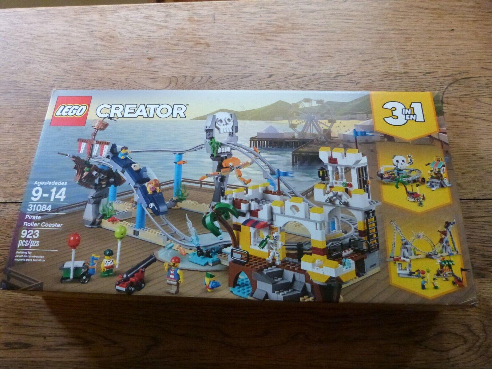 Lego Creator Pirate Roller Coaster (31084) nuovo  Sealed    connotazione di lusso low-key