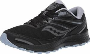Saucony Women's Cohesion Tr13 Walking Shoe, Black/Grey/Light Blue, Size 7.0 7cPa