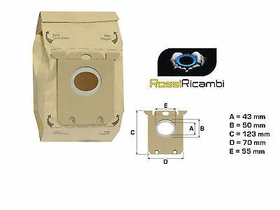 4 Sacchetti Aspirapolvere Swirl ph86 PER AEG-Electrolux AEO 5430