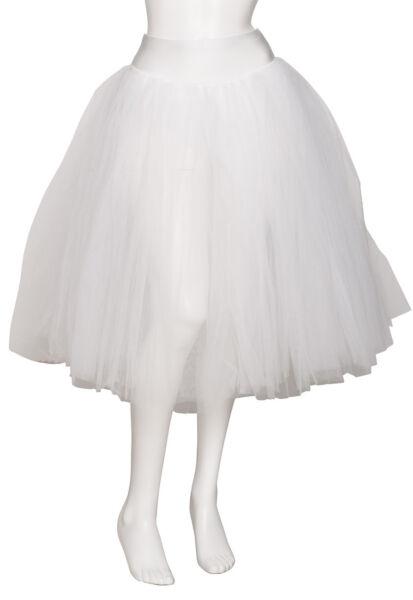 100% De Calidad Mujer Niña Blanco Romántico Danza Ballet Falda Tutú Todas Las Tallas De Katz FáCil De Reparar