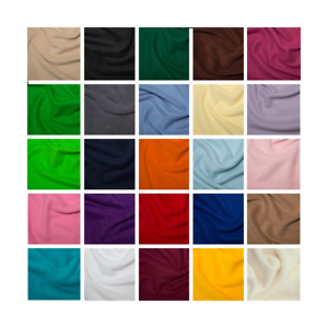 "half metre Choice of colours Quality Anti Pil Fleece 59/"" 150cm Wide Per Metre"