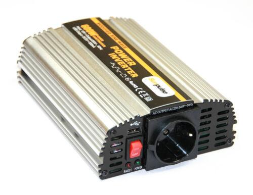 Convertisseur de Tension Ms 12V 600 1200 Watt Onduleurs Onduleur 600 W