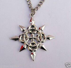 Kingdom-Hearts-II-Metal-Charm-Necklace-Chakram-Axel-Pandent-Cosplay