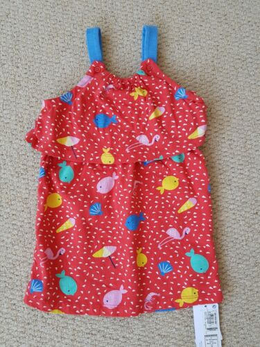 6-9 9-12month Baby Dress// Top M/&S NEW 3-6
