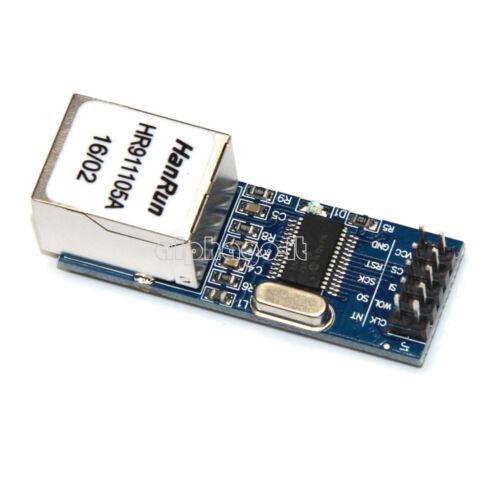 1PCS ENC28J60 W5100 Ethernet LAN MINI Nano Ethernet Network Module for Arduino