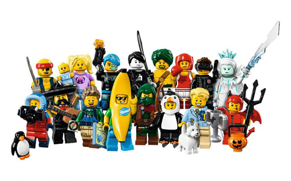 LEGO Minifigures Series 16 Complete Collection of 16 Sealed Minifigures