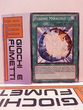 FUSIONE MIRACOLO in italiano COMUNE originale YU-GI-OH!
