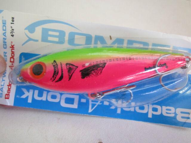 "Bomber Badonk-A-Donk 4 3/4"" HP  fishing lure NIP great on Barra"