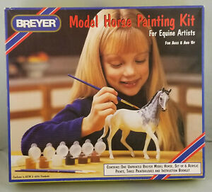 Breyer-4101-Classic-Model-Horse-Painting-Repaint-Set-with-Kelso-NIB
