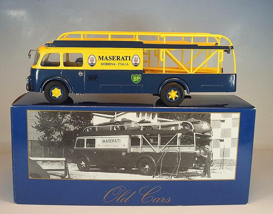Old voitures 1 43 no  56100 Fiat 642 nr2 voiture Transporter Maserati OVP  021  réductions incroyables