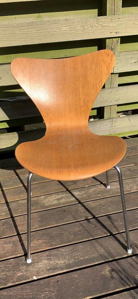 Arne Jacobsen, stol, 7'er stole med – dba.dk – Køb og Salg