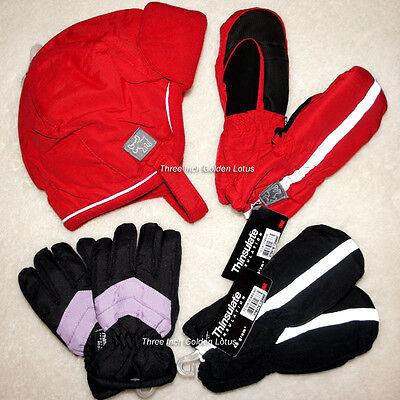 Children Toddler Boy Girl Winter Snow Ski Waterproof Mittens or Hat Thinsulate