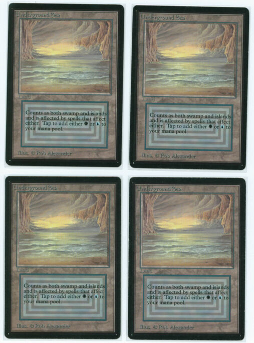 X4  auge dimaond - illusion, vg.mtg