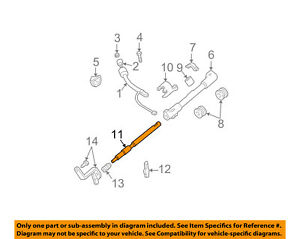image is loading ford-oem-steering-column-shift-lever-shaft-f7dz7r264aa