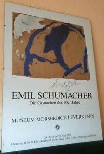 Emil-Schumacher-signiert