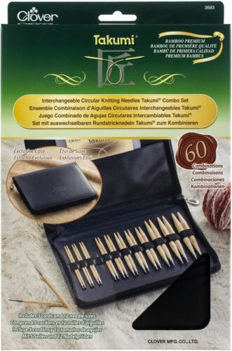 Takumi Bamboo Interchangeable Circular Knitting Needle Set 3683