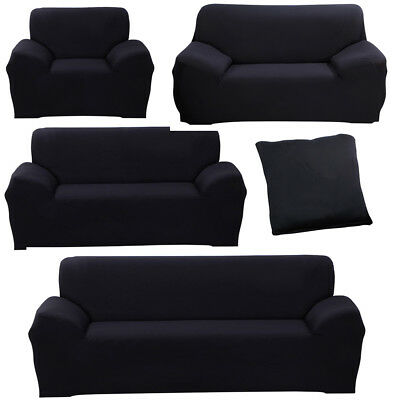 Comfortable Slipcover 3 Seater Sofa Loveseat Chair Furniture Cover Protector