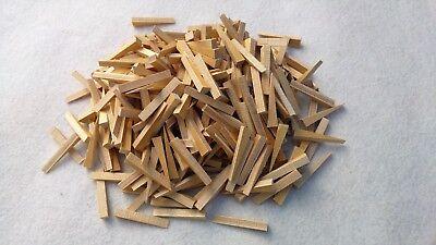 Holzkeile/ Fliesenlegerkeile Multiplex 300 Stück 55x8x0-10mm