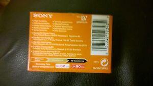 Complexé Sony Mini Dv Premium Digital Video Cassette Dvm60pr3-afficher Le Titre D'origine