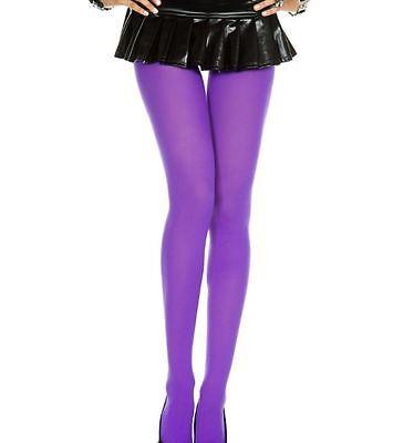 Sexy Purple Opaque Sexy Pantyhose Halloween Costume Hosiery Women's LA-7300