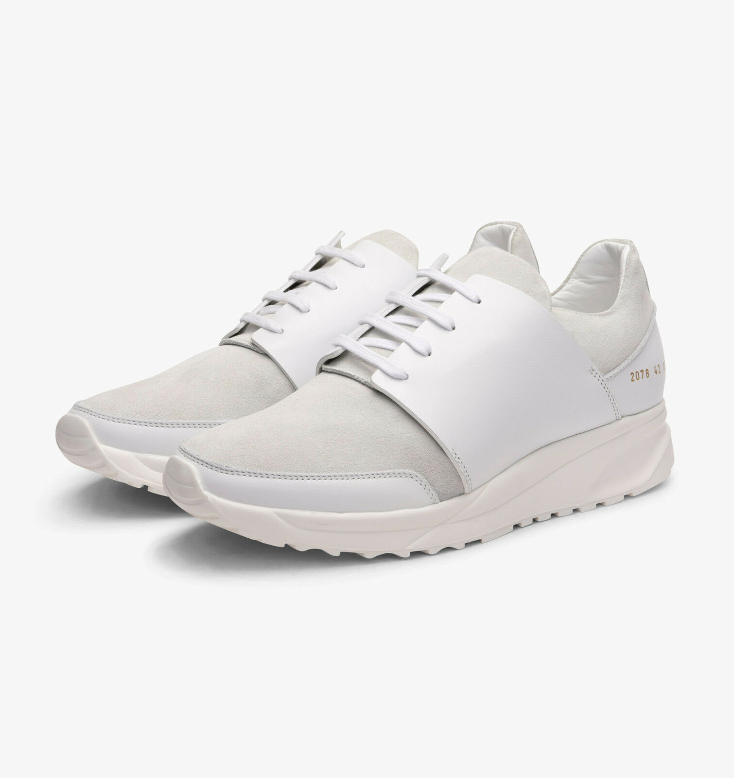 Common Projects Talla Track Sneakers in Blanco, Talla Projects 42 & 43 - BNWB,  395 27c9e9