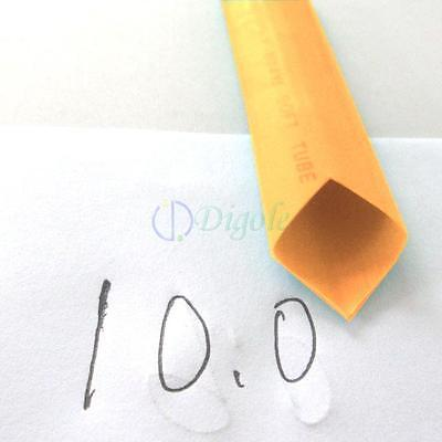 "Heat Shrink Tubing Tube Diameter 4mm 5//32/"" x 2m//6FT @Yellow"