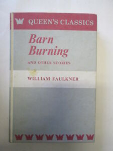 Acceptable-Barn-burning-and-other-stories-The-Queen-039-s-classics-Faulkner