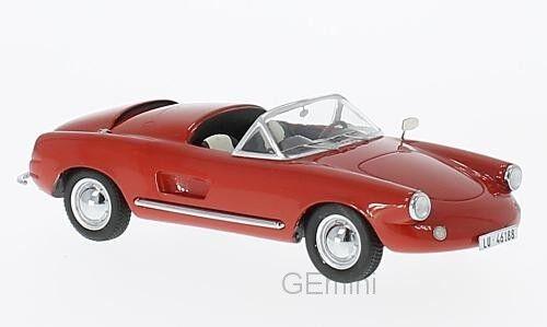 NEO 46188 - EnzFemmen 506 cabriolet rouge - 1957     1/43 | Big Liquidation  | Larges Variétés  | à Bas Prix  | Des Matériaux Supérieurs