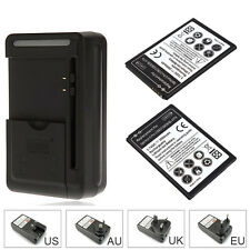 2X 3500mAh Backup Battery + Charger For LG Optimus G Pro 2 D837 D838 BL-47TH