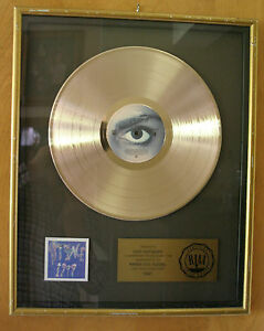 Original-Prince-1999-Gold-Record-presented-to-Chick-Huntsberry-Bodyguard-1982