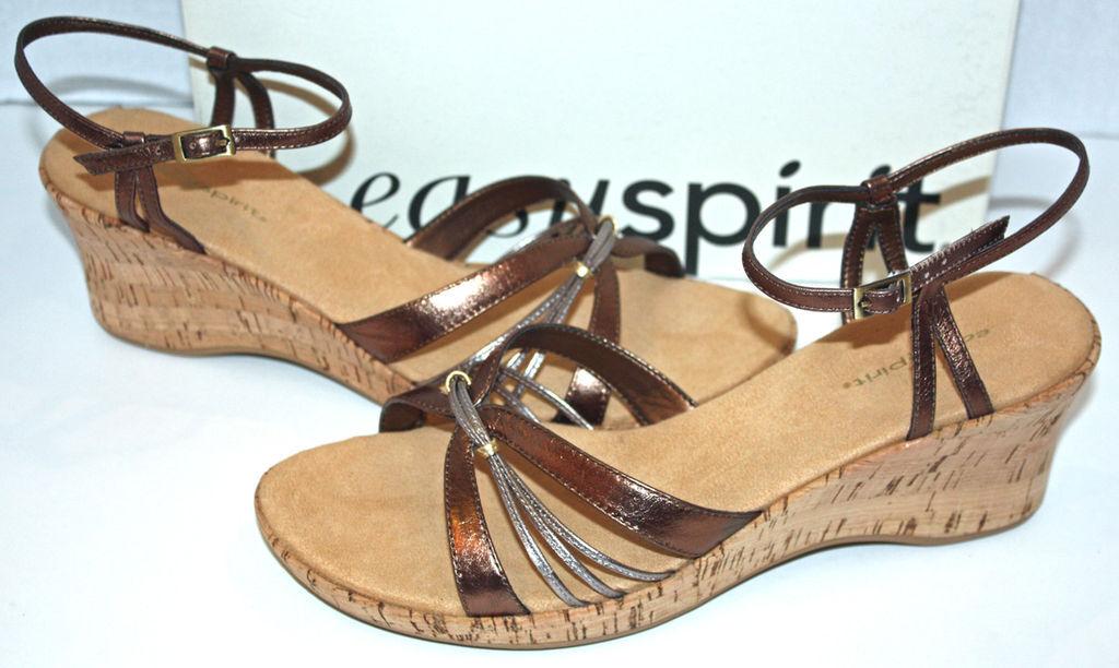 Nuevo Nuevo Nuevo en caja marrón Easy Spirit zapatos cómodos Sz10  ventas de salida