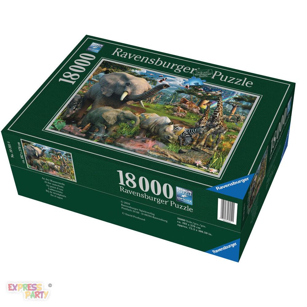 At the Waterhole 18000 Piece Ravensburger Jigsaw