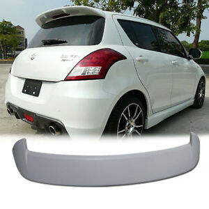 Unpainted For Suzuki Swift Sport Type Rear Spoiler Trunk Wing 2012 on 2015 new sidekick, 2015 new ford, 2015 new superb, 2015 new rock, 2015 new terios, 2015 new bolero, 2015 new lincoln, 2015 new alto, 2015 new dodge,