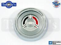 1964 Chevy Wood Wheel Horn Button Cap Emblem Assembly