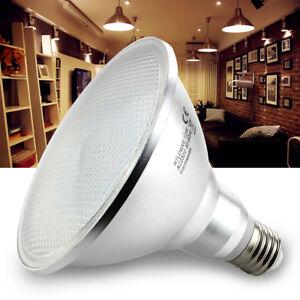 led 12w e27 spot par38 reflektor strahler licht leuchtmittel warmwei smd lampe ebay. Black Bedroom Furniture Sets. Home Design Ideas