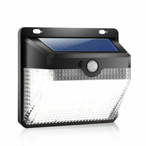 270° 60 LEDs Solar Power Wall Light Motion Sensor Waterproof Outdoor Garden Lamp