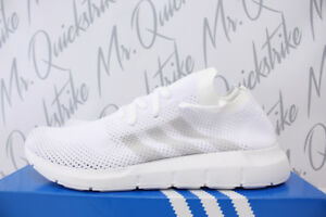 ea82c3d78f4c3 ADIDAS SWIFT RUN PRIMEKNIT SZ 11.5 RUNNING WHITE GREY PK RUNNING ...