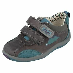 7a82a08cd7f SALE  Clarks First Shoes  Saurus Time  Boys First Walking Leather ...