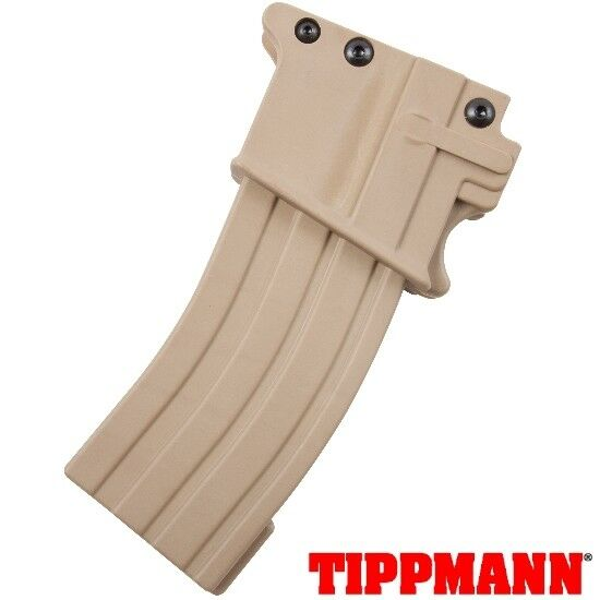 Tippmann a-5 m-16 m4 Air-Thru Magazine (Desert Tan)