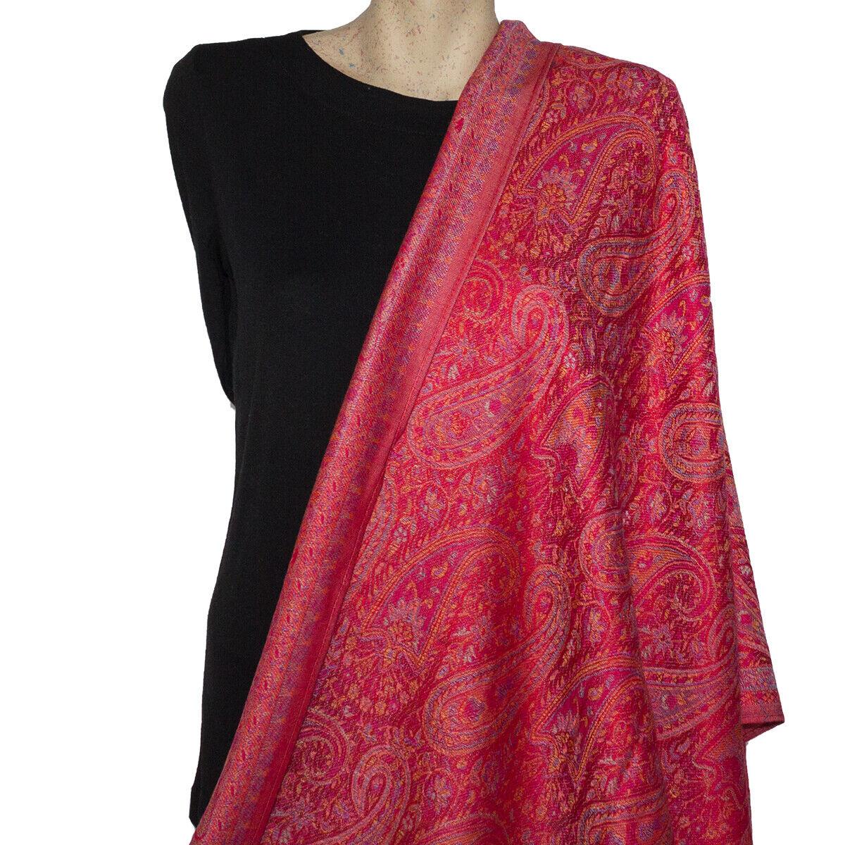 Sparkling  Pashmina  Paisley Shawl//Wrap//Scarf #2