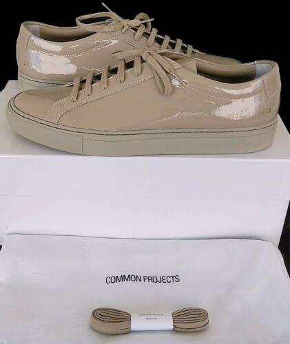 NEW IN BOX EU41 UK 7 COMMON PROJECTS ACHILLES LOW GLOSS TAUPE