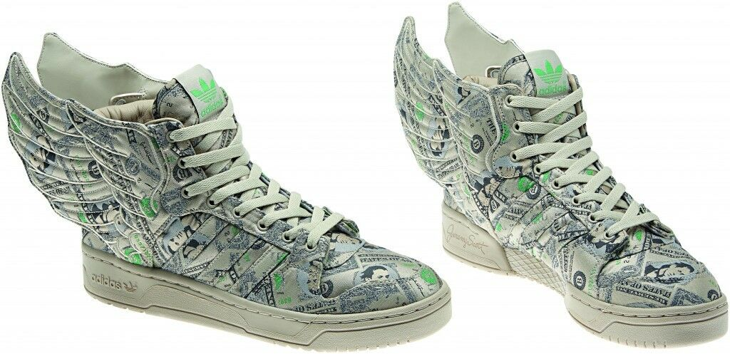 Adidas Jeremy Scott Scott Scott Wings 2.0 Money, Brand New, Style No G95773 a2be03
