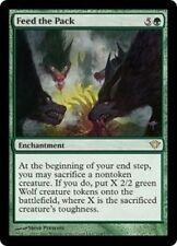 4X Feed the Pack - LP - Dark Ascension MTG Magic Cards Green Rare